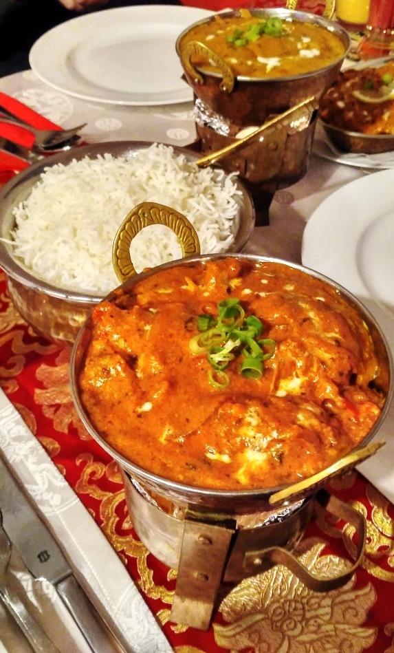 Indisch nepalesisches Essen