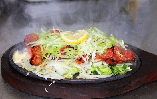 Fish und Fleisch Curry